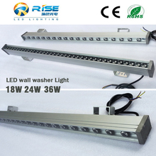 Outdoor commercial decoration 24w Led wall washer light,Single color/rgb led wall washer light