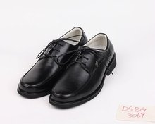 DABG3069 Lace Up Leather Men Dress Shoes,wide fitting mens shoes