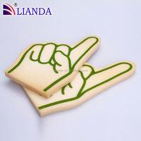 giant foam hands, giant wave foam finger, hand fans custom printed