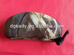 Camo Semi-circle shape EVA eyeglasses case, spectacle case,glasses case