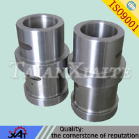 High performance Alloy steel collar bushing forged steel parts CNC machining engineering spare parts