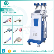 New Cavitation Vacuum RF Roller Velashape & laser Weight loss & Body Shaping Machine