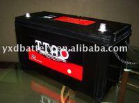12v sealed mf truck,auto battery 100AH