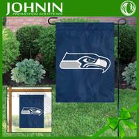OEM service best quality custom made new promotion Seattle Seahawks fiber optic garden flag