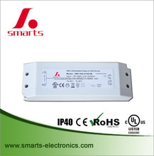 IP40 1050ma 35w dali dimming led driver with constant current type