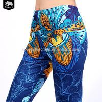 Customized available size fashionable reasonable price custom fitness leggings