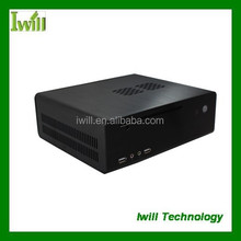 Iwill HT80 aluminum mini itx computer case/htpc case for tablet pc