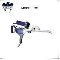 Hand held plastic extrusion welder/plastic welding extruder/pipe welding machine