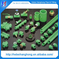 ppr and pvc pipes and fittings with raw material welding machine