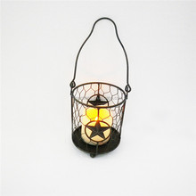 Indian style hanging Metal Candle Holder wholesale candle Lantern