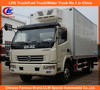 Dongfeng 4*2 Refrigerated Freezer Truck Dongfeng Mini Refrigerated Freezer Truck 4*2 Used Freezer Truck