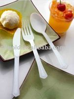 kids disposable plastic cutlery for party