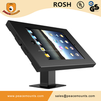 Mental China supplier anti-theft 7-10 inch universal tablet holder