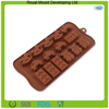 15-caves cars shape silicone chocolate mold, silicone baking tray, chocolate making molds