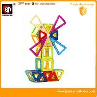 Hot DIY educational toys children plastic building blocks