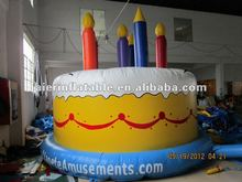 widely used inflatable birthday cake