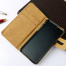 Slim Flip PU Leather Case mobile phone cover for iPhone 6