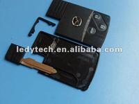New Style Mazda 3 button smart remote key shell & key blank& car key