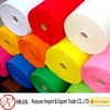 1mm thick Bright color 100% wool felt in roll for garment