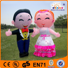 hot sale cheap used wedding giant inflatable characters