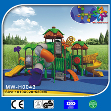 2015 new design used outdoor playground equipment for sale,children outdoor playground big slides for sale