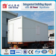 CE/ ISO certified 20ft portable container office, mobile container office