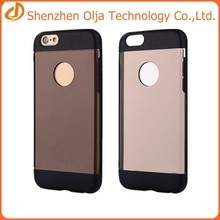 tpu+pc double color cover case for iphone 6 for china wholesale iphone 6 case