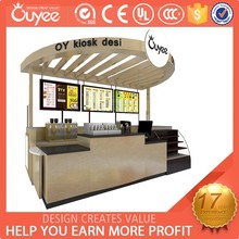 2015 Hot sale customized burger cart mobile snack kiosk