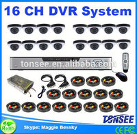 Tonsee new 16 ch DVR security system,underwater cctv camera,1.8 zif hdd ssd
