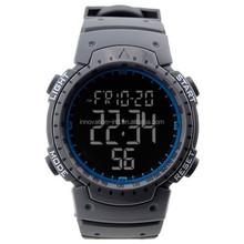 Wholesale plastic waterproof multi-function digital watch for men