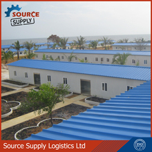 High quality light steel Prefabricated warehouse galvanized zinc coated ISO manufacturer