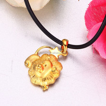 hot sale gold lion pendant
