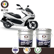 Weather resistant fast dying baking paint for demostic appliance