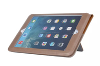 New arrival fashion high quality standing hybird wallet leather flip case for Ipad mini