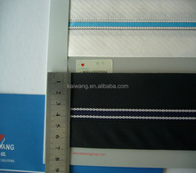 polyester cotton fabric match waistband Non-slip band waistband lining for suit pants