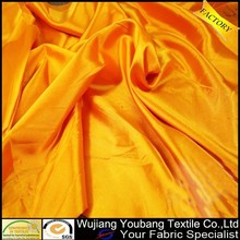 recién 120g suave satén dorado tela