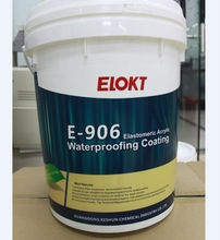 Building Roofing Elastic Acrylic Waterproof Paint with UV resistance
