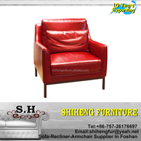 Hotel Modern Sofa Living Room Leather Bedroom Chair Set XYBC-61
