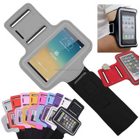 China Manufacturer NEW Product Adjustable Neoprene Running Armband for iphone with logo