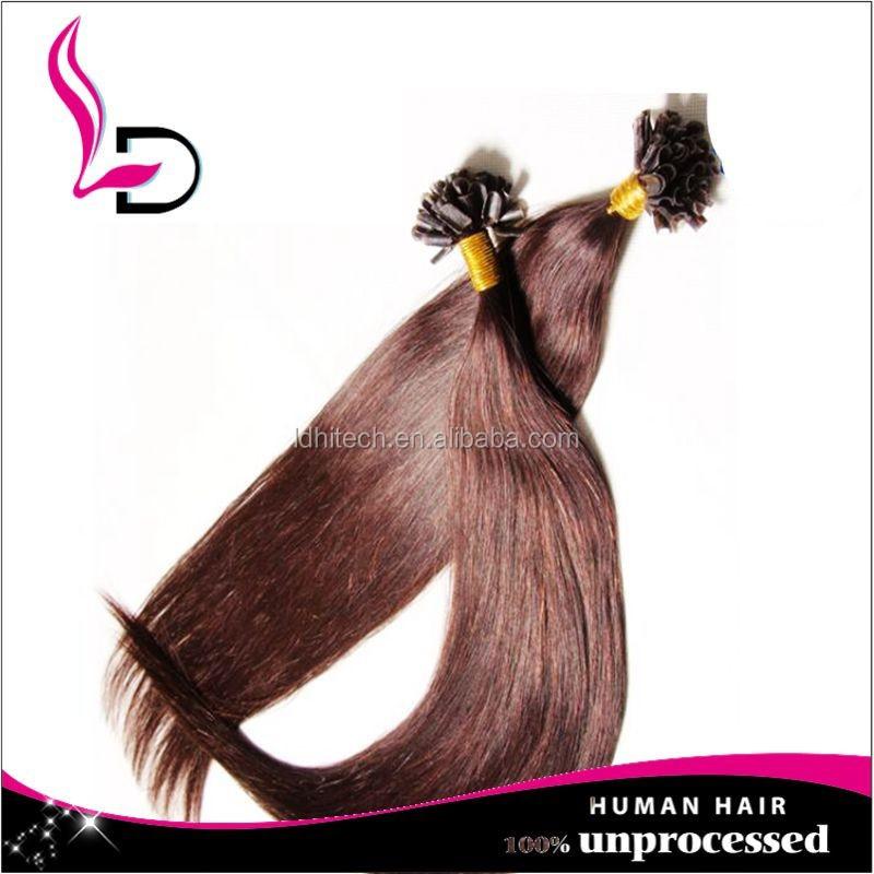 Nail Tip Hair Extensions Cheap 68