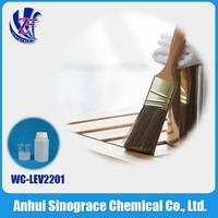 Polyurethane resin leveling agent for water based wood chemicals