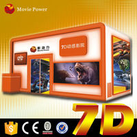 Convenient to transport and install 5d 6d 7d 12d cinema with 6dof motion platform