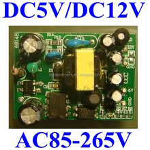 AC DC Power Supply Module Assebled PCB Board Isolated switching power module ac85-265v to dual output 5v 700ma 12v 300ma