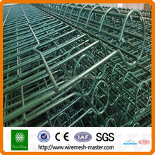 ISO security Double circle wire mesh fence / netting fencing