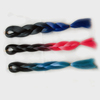 Women Big Braids X-pression Two Tone Ombre Synthetic Braiding Hair Xpression High Temperature Synthetic Hairs Carnival Cosplay