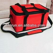Insulated aluminium foil cooler bag for food, pp woven&non woven cooler bag, polyester&oxford cooler bag