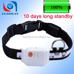Fashion waterproof animal gps collar ce approved