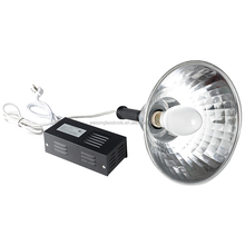 Round tube UV shadowless lamp 125W ,UV ir test lamp for testing glass