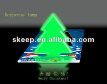 2012 new design portable Christmas light led promotion gift for sale colourful led lamp with led light