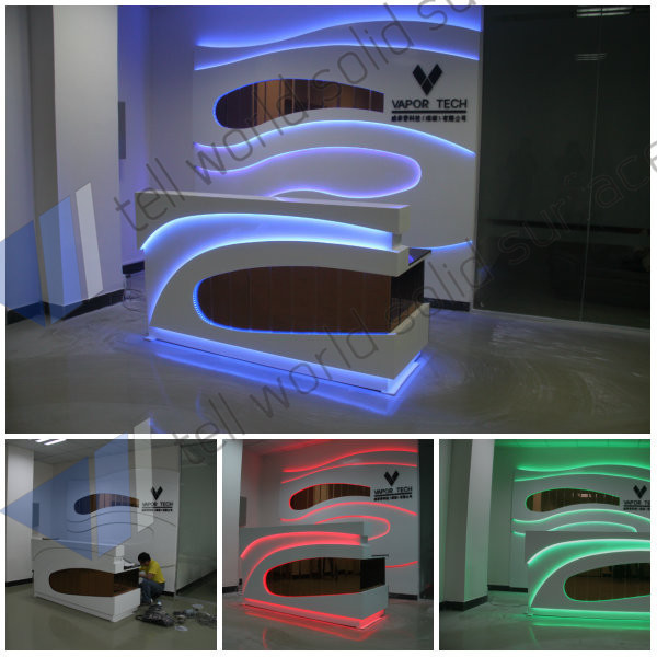 Checkout Counter Cashier Desk Modern Design Reception